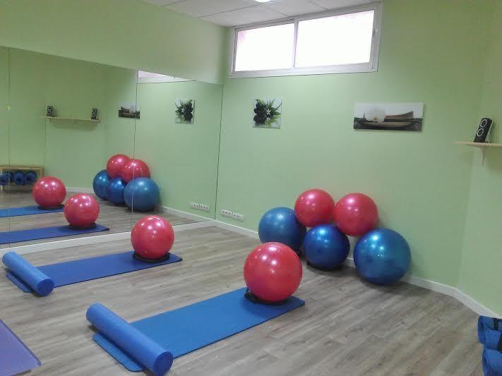 Sala #pilates suelo #Fisioterapia FISOS Móstoles