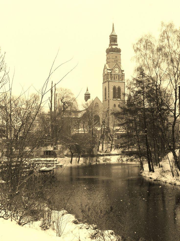 Winter in Plagwitz