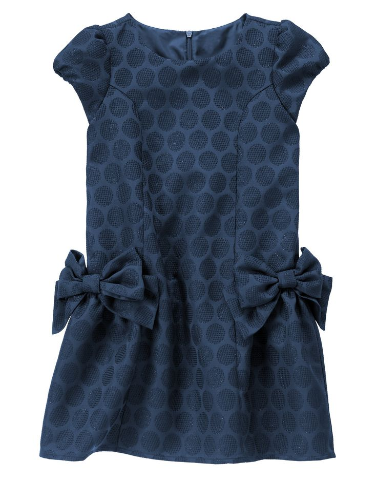 Gymboree dupioni dress black