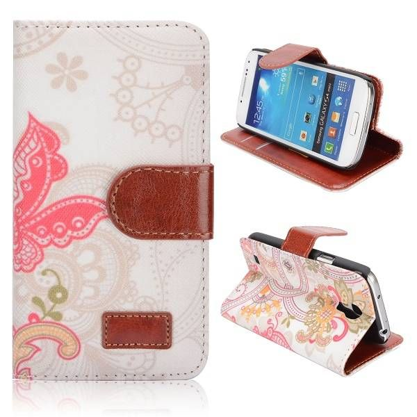Elegante figuren bookcase voor Samsung Galaxy S4 mini
