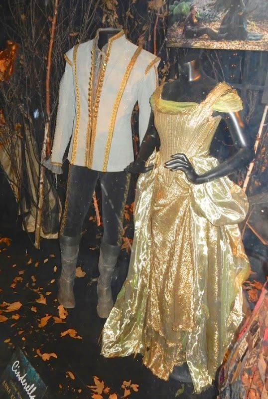 Into the Woods Cinderella and Prince Charming movie costumes