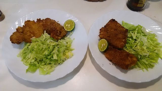 カラスカレイのカツ:上手に揚がった  The cutlet of the crow flatfish. I was fried well http://www.kandamori.net/2017/04/blog-post_74.html #朝食 #夕食 #昼食 #ランチ #グルメ #ディナー #食事 #料理 #食料 #食べ物 #ご飯 #Breakfast #dinner #lunch #gourmet #meal #Dish #food #rice #cook #cooking #東京 #世田谷 #下北沢  #art #photo #アート #芸術 #写真
