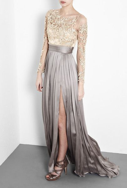 Catherine Deane Leigh Split Skirt Dress Wedding Ideas