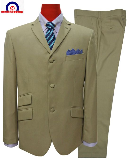 Modshopping - MOD SUIT,Classic Burly Wood color suit, £199.00 (http://www.modshopping.com/mod-suit-classic-burly-wood-color-suit/)