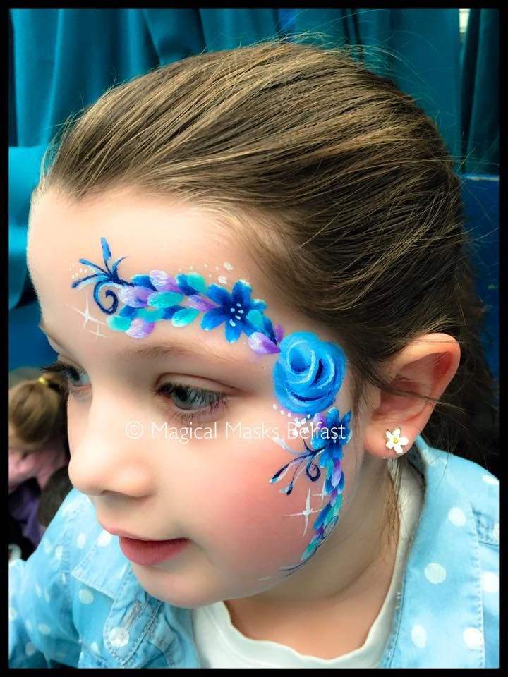 25 best ideas about face painting flowers on pinterest