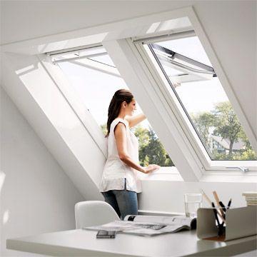 7 besten Dachfenster Bilder auf Pinterest Dachfenster - home office mit dachfenster ideen bilder