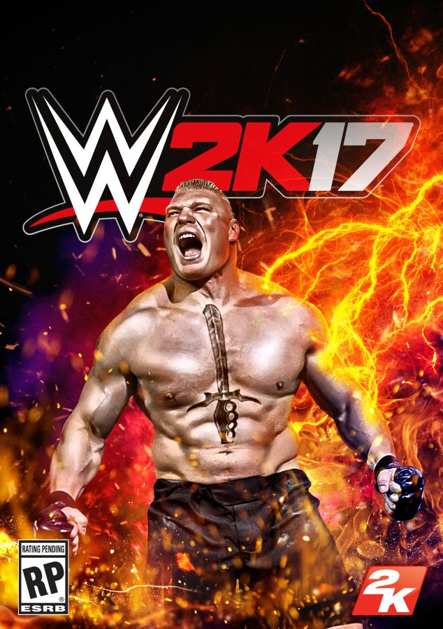 Brock Lesnar Is The WWE 2K17 Cover Superstar