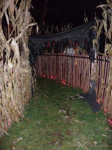 The HAUNTED HALLOWEEN CORN MAZE - 2013 - by reedwood @ LumberJocks.com ~ woodworking community