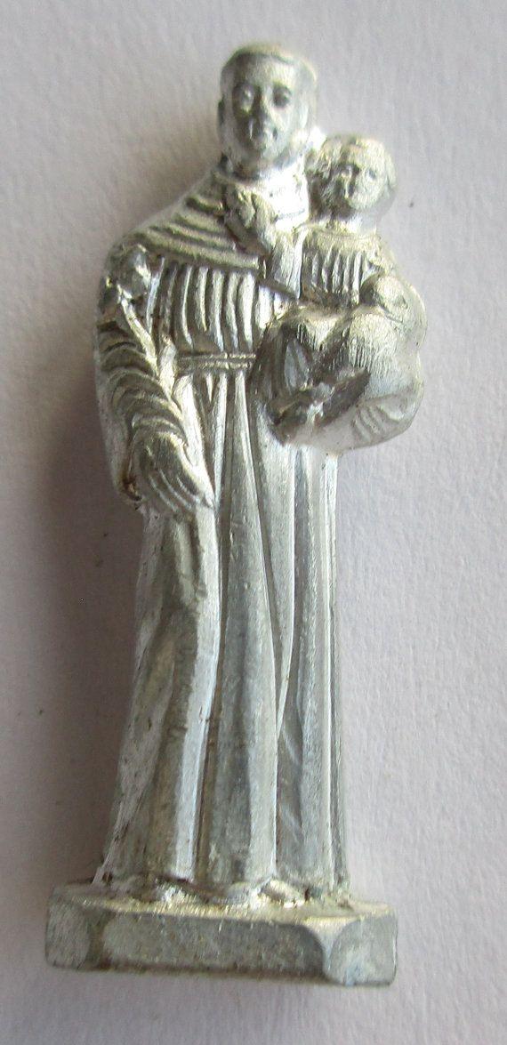 Vintage Sint Franciscus van ASSISI zak / portemonnee medaille Souvenir - circa…