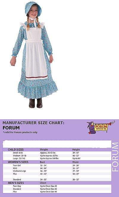 Halloween Costumes: Kids Pioneer Girl Costume Prairie Dress Laura Ingalls Wilder 76235 -> BUY IT NOW ONLY: $31.88 on eBay!