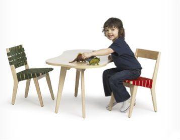 Roundup of Scandinavian Kids' Furniture! amoeba table by Jens Risom