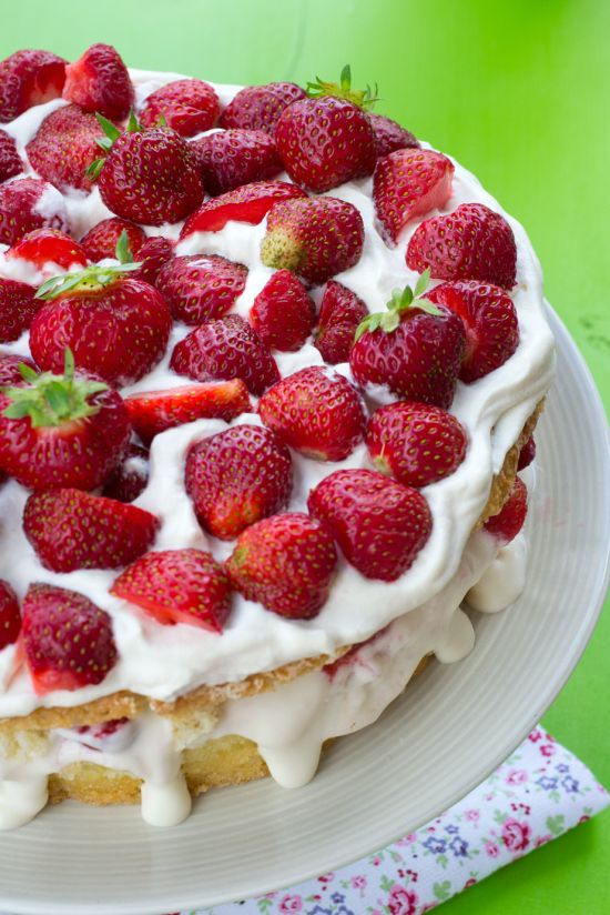 Nigella Lawson Swedish Summer Cake Recipe
