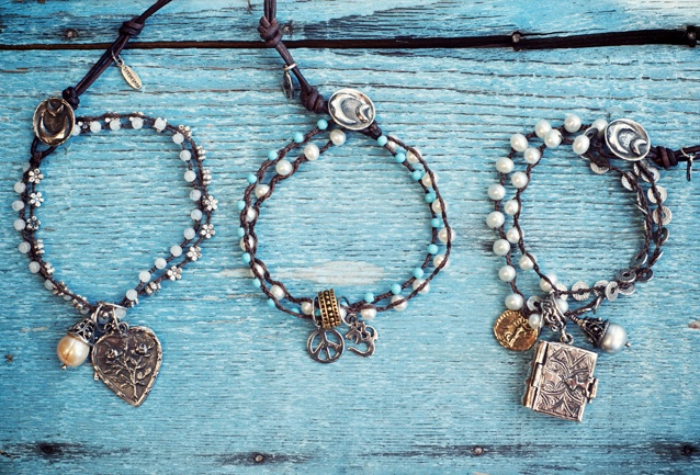 Love Heals Jewelry Handmade in California - 10 Trees Planted Per Piece Sold