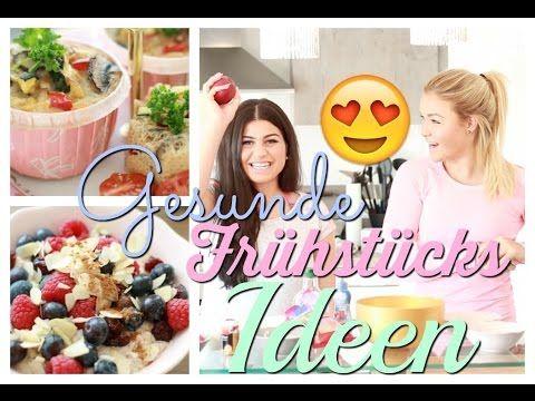3 kreative Fitness Frühstücksideen - Sophia Thiel - YouTube