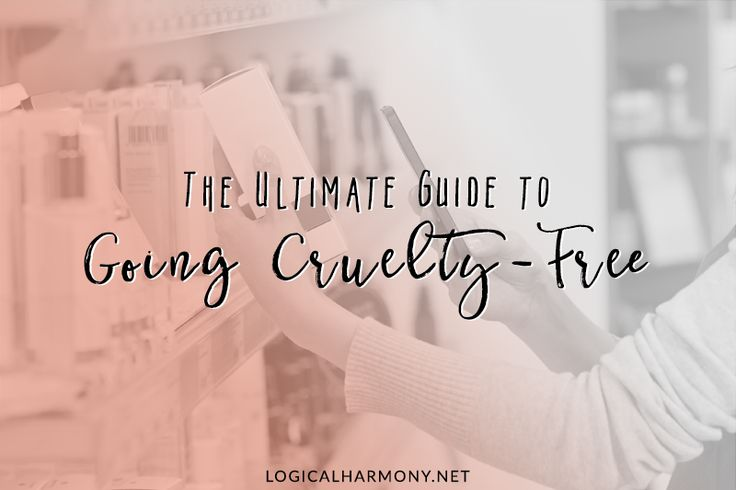 When you decide to go cruelty-free, things can be a big overwhelming at the start. Use these tips from Logical Harmony to help you go cruelty-free!