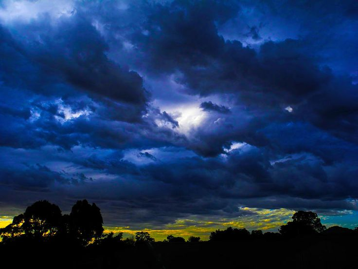 The Night Of The Storm Photograph