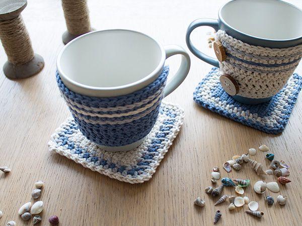 Die 16 besten Bilder zu Crochet Mug Hugs auf Pinterest | Stolen ...