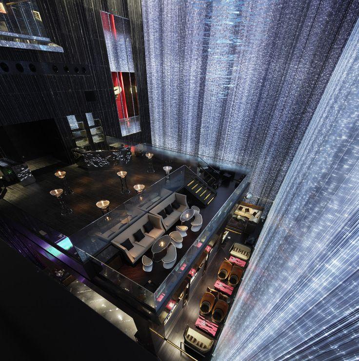 FEI W Hotel Guangzhou, China - Aoyama Nomura Design (sparkling facade lighting) 3  Winner of the Restaurant & Bar Design Awards 2014 – Best Bar