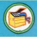 Patches :: Spoof Patches :: Spoof Merit Badges :: Dumpster Diving Merit Badge - Boy Scout Store - Boy Scout Collectibles & Memorabilia & Gifts