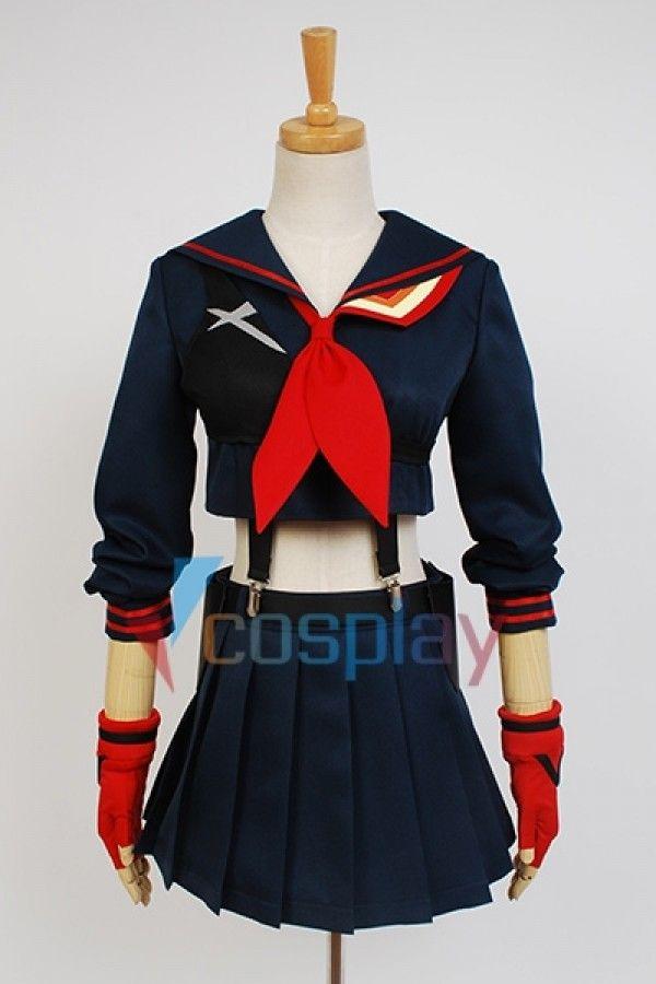Ryuko Matoi Uniform KILL la KILL Cosplay Costume