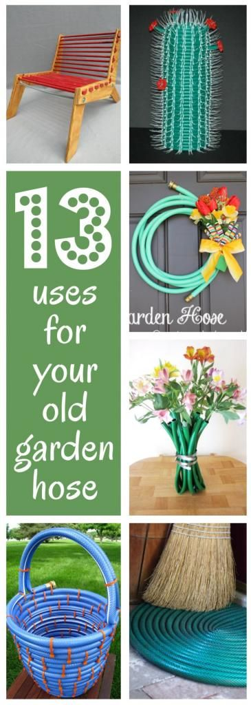 diy home sweet home: 13 things to do with your old garden hose
