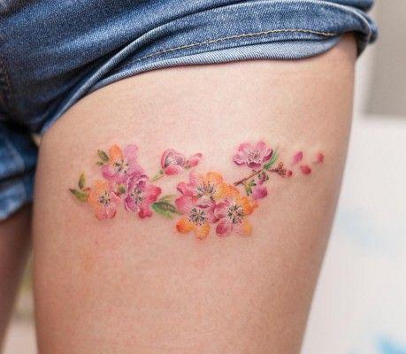 Inspiratie: 35 x de mooiste aquarel tatoeages   NSMBL.nl