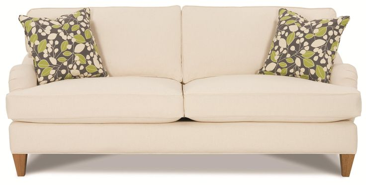 Leather Sofa  Best images about Rowe Furniture on Pinterest Traditional Robins and World