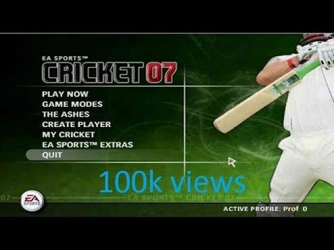 Ea Sports Cricket 2007 Game Free Download Fdm Free
