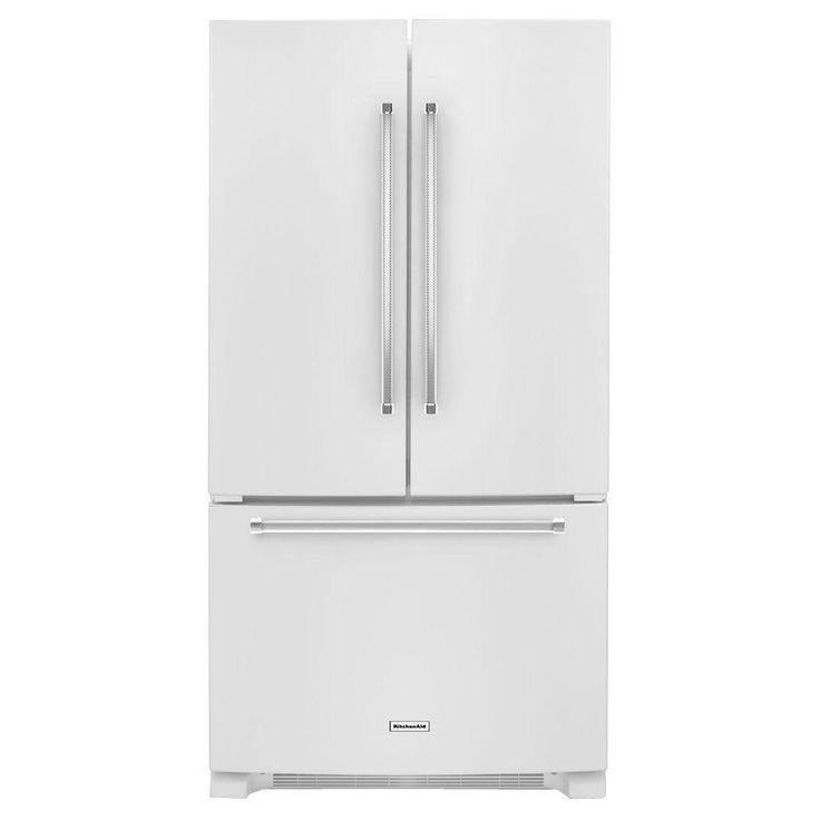 Kitchenaid 36 In W 25 8 Cu Ft French Door Refrigerator: 17 Best Ideas About French Door Refrigerator On Pinterest