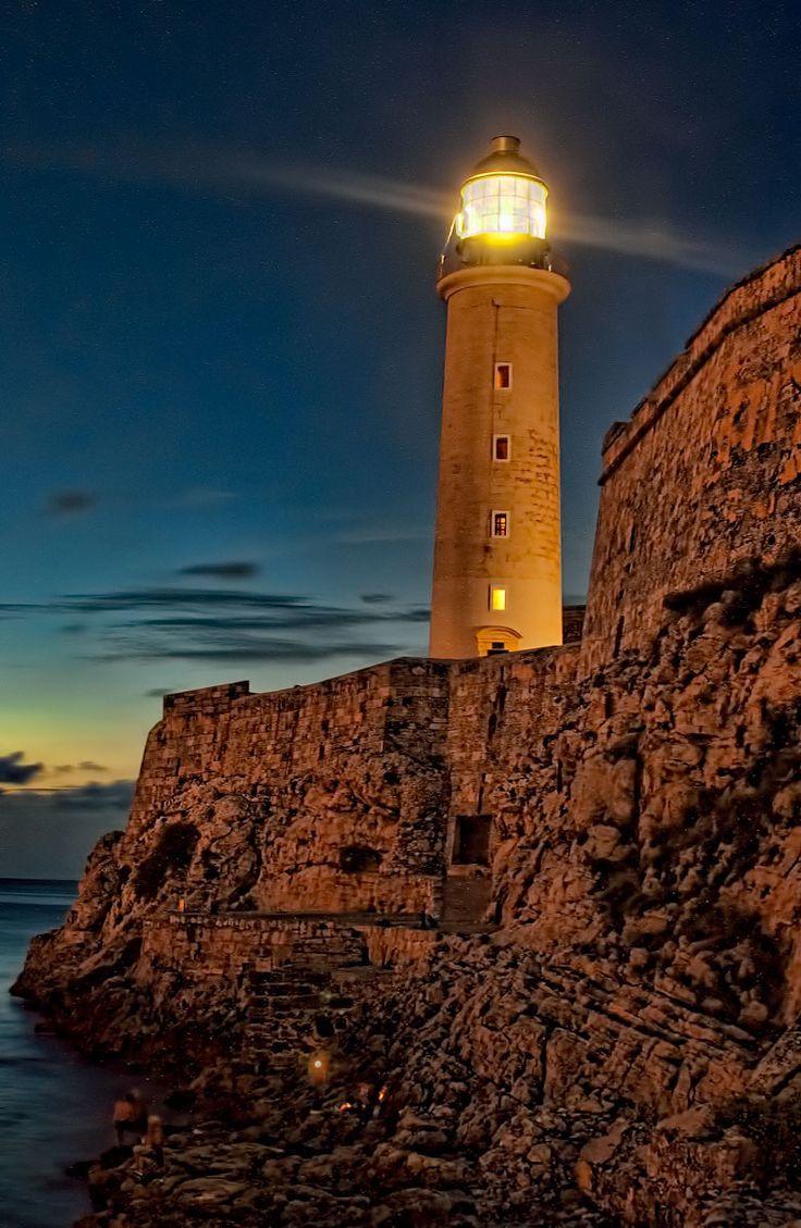 El moro lighthouse in cuba