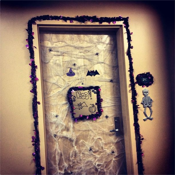 Halloween dorm decorations! | The Island of Misfit Toys | Pinterest ...