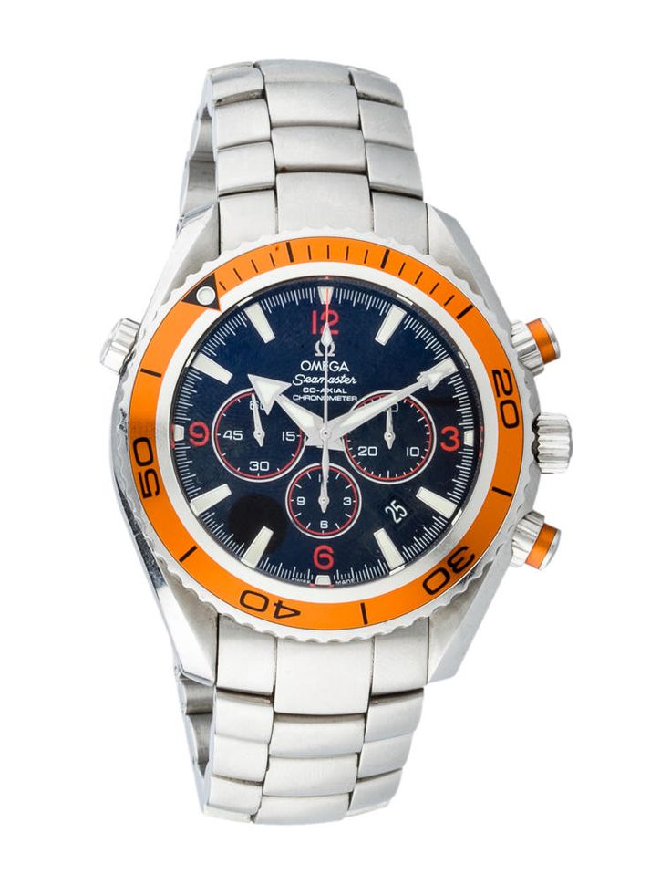 Seamaster Professional Planet Ocean Automatic Chronograph Watch