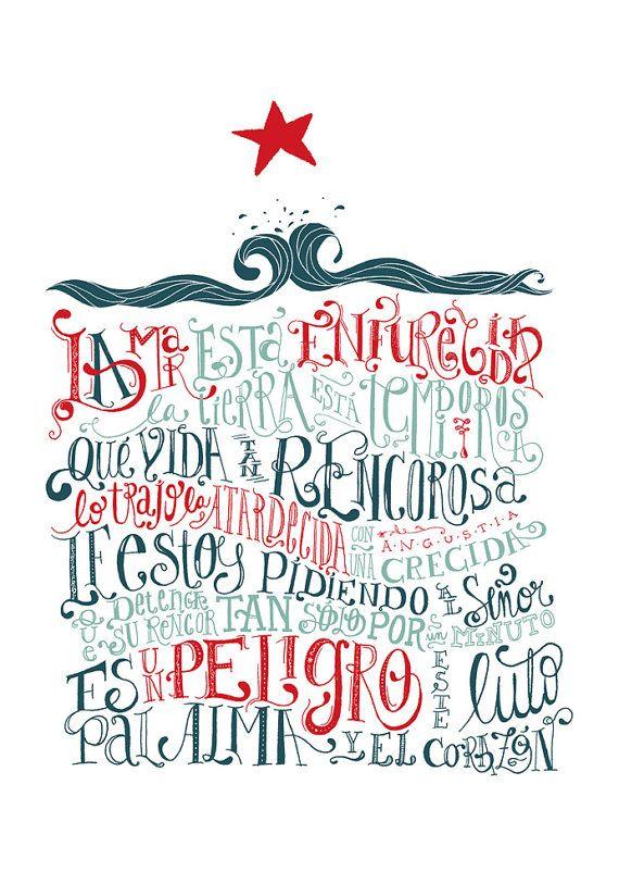 Violeta Parra by Laura Varsky via Etsy.