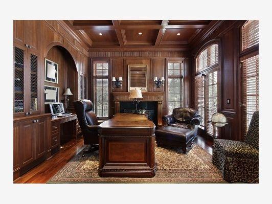 Luxury Home Office Design Home And Garden Design Ideas
