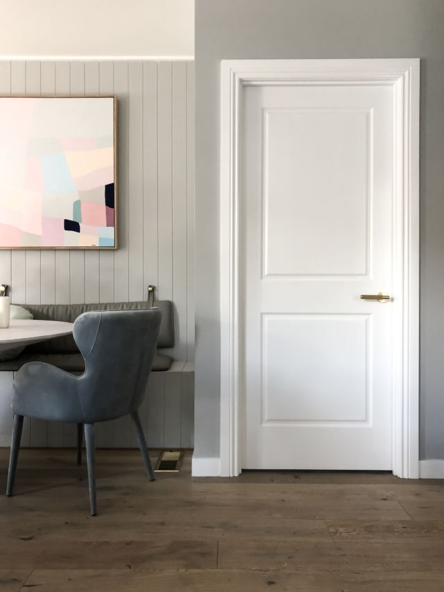 Scandinavian Style Doors Integral Say Norsu Interiors The Interiors Addict Gostinaya Spalnya Remont