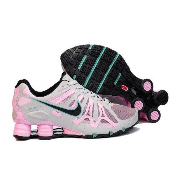 newest 2867d ff44f nike shox women   Nike Shox Turbo+ 13 Running Shoe Womens Beige Pink   Sale nike  Shox ...   nike in 2019   Nike shoes, Nike, Nike shox