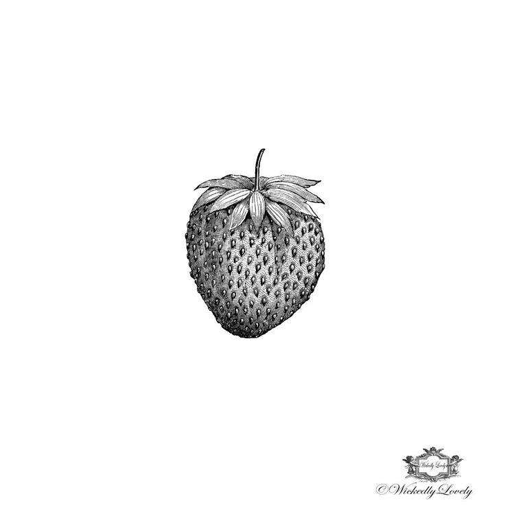 Strawberry, Body Art, Vintage,  Wickedly Lovely Skin Art Temporary Tattoo, (includes 3 tattoos) by WickedlyLovelyArt on Etsy https://www.etsy.com/listing/192538796/strawberry-body-art-vintage-wickedly