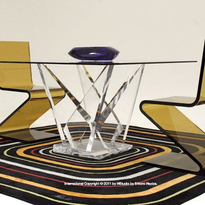 The Tokyo Table Asserts Itself As The Featured Piece Of Your Dining Room,  And Is. Acrylic FurnitureStudio FurnitureGlass ...