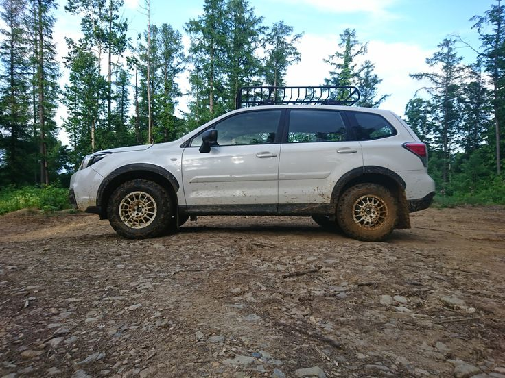 Off-road Subaru Forester