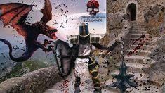 Whuhuuuuulll muito legal essa edição pro #crusader @douglascorpion #blizzard #diablo3 #diablo #demonhunter #medieval #cosplay #cosplayer #ps4 #gamecosplay