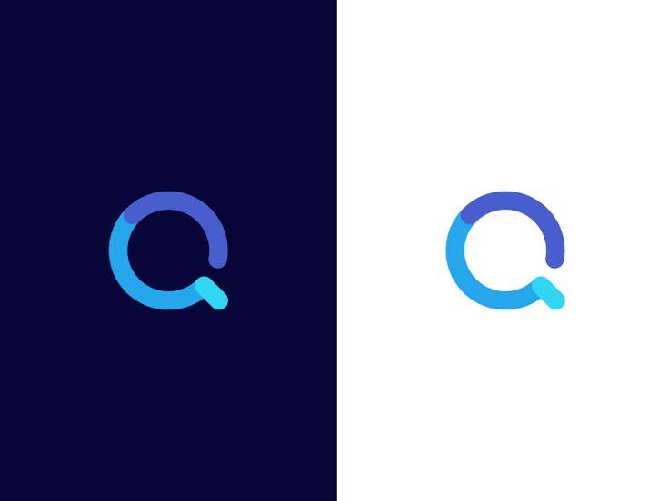 Q / logo design by Deividas Bielskis #Design Popular #Dribbble #shots