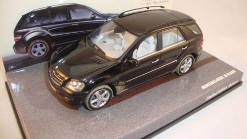 Minichamps 436034500 Mercedes M Class 2005 Black 1:43 suberb detail