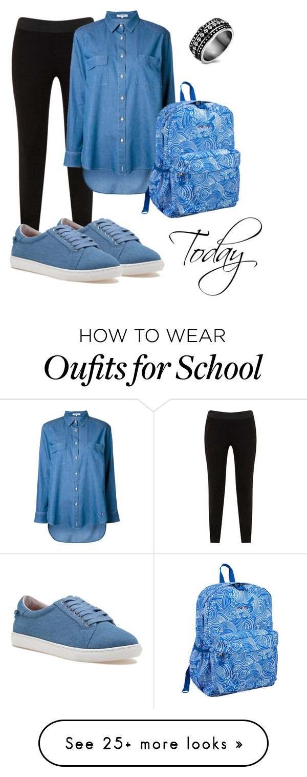 """t day"" by stysious on Polyvore featuring JunaRose, Guild Prime, J/Slides and JWorld"