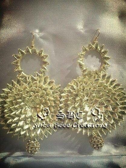 Gota earrings