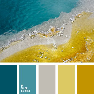 seashore | MORE ON: http://www.pinterest.com/AnkAdesign/palettes/ Gorgeous colors. I prefer a bit less yellow in the blues, that gold is spot on for my flat gold.