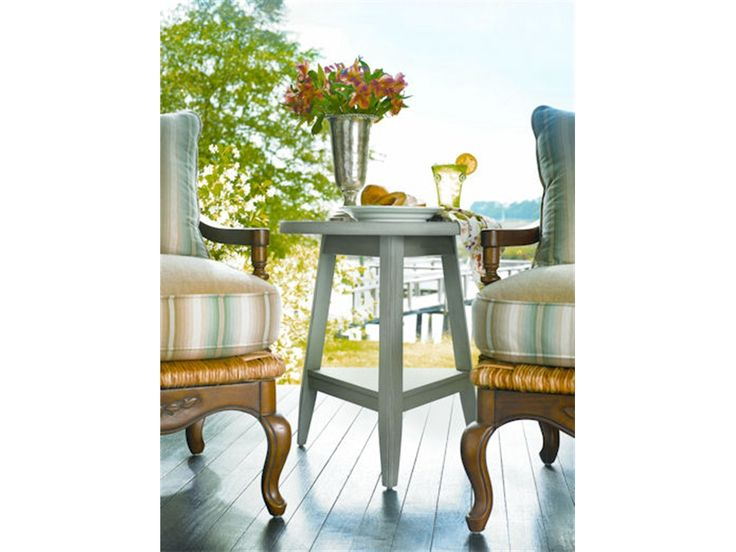 Paula Deen Furniture Outlet | Paula Deen By Universal Living Room Lamp  Table 995814 At Woodstock