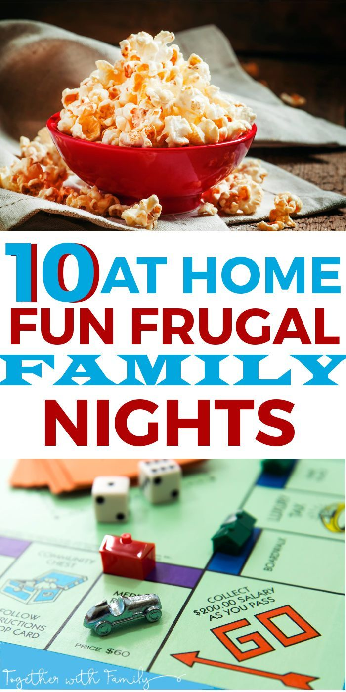 10 At Home Fun Frugal Family Nights
