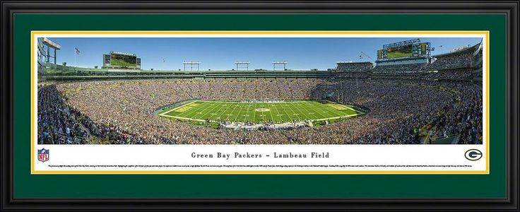 OneStopFanShop - Green Bay Packers Panoramic Picture Deluxe Matted Frame, $199.95 (https://www.onestopfanshop.com/nfl/green-bay-packers/green-bay-packers-panoramic-picture-deluxe-matted-frame/)