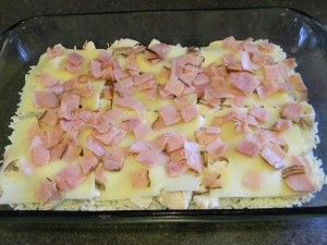 Chicken Cordon Bleu Casserole. One pinner says: New family favorite. They even ate LEFTOVERS!