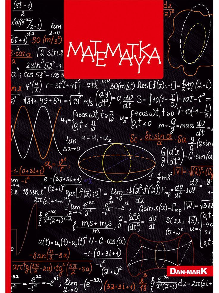 Zeszyt w kratkę, MATEMATYKA format A5, 80 kartek - 1106000KLFOA5 - art. szkolne - txm